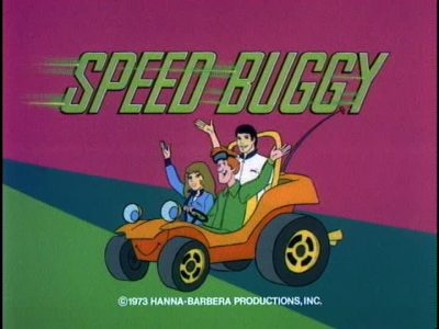 Speed Buggy Hanna-Barbera Cartoon TV Show Scene Image Talking Dune BUggy Review (2)