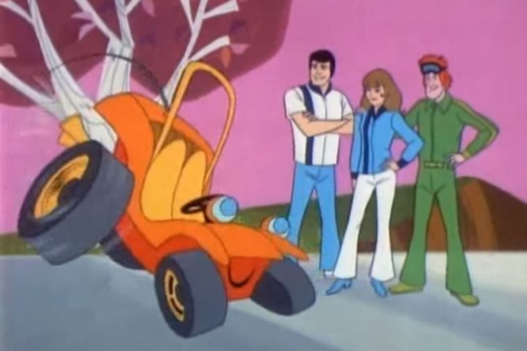 Speed Buggy Hanna-Barbera Cartoon TV Show Scene Image Talking Dune BUggy Review (3)