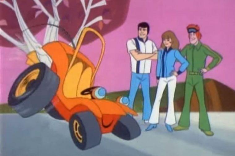 Speed Buggy Hanna-Barbera Cartoon TV Show Scene Image Talking Dune BUggy Review (3)