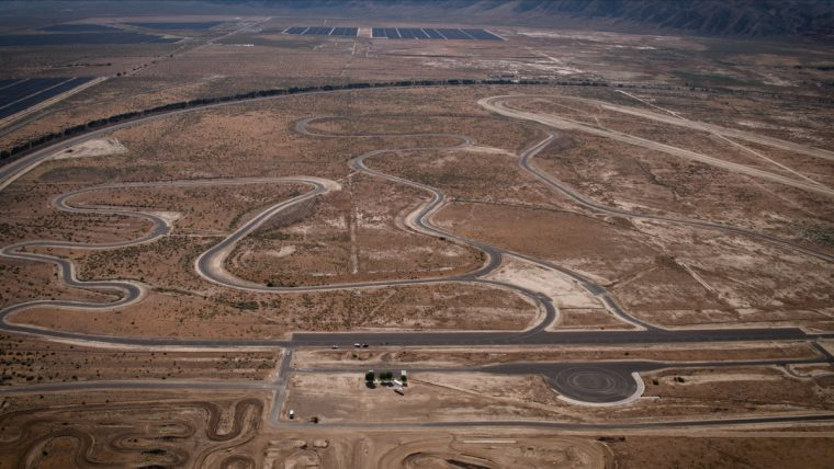 The renovated Honda Proving Center (HPC) is once again primed to test the capabilities of the companyÕs automobiles, motorcycles, side-by-sides and ATVs against the dramatic back drop of the Mojave Desert, near Cantil, California.