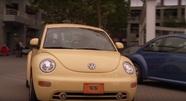 Zenon VW Volkswagen Beetle Aunt Judy Weird License Plate