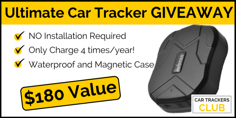 car trackers giveaway