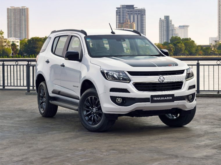 2017 Holden Trailblazer Z71