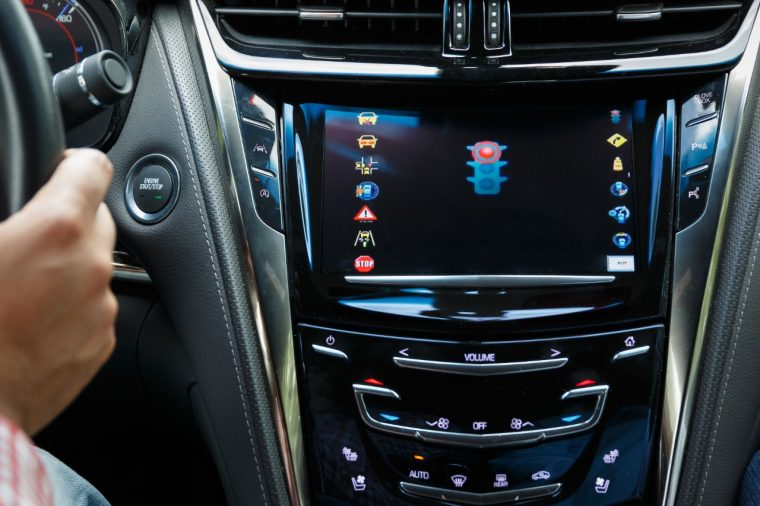 2017 Cadillac CTS V2I test