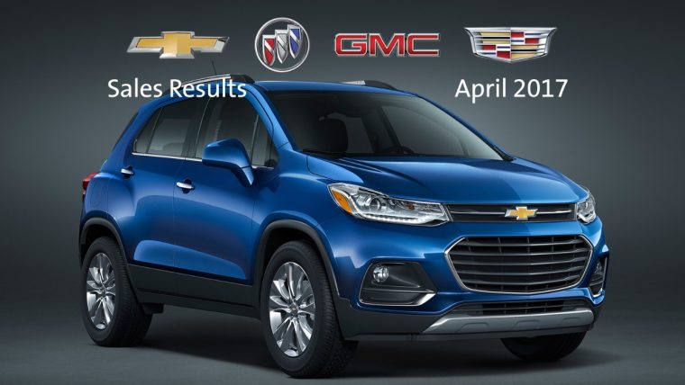 General Motors April 2017 sales