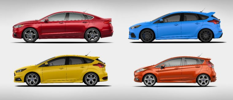 Ford Fusion Sport Ford Focus RS Ford Focus ST Ford Fiesta ST