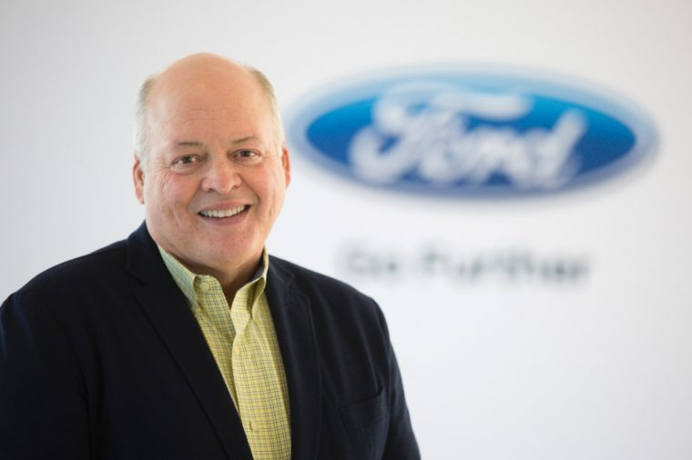 New Ford President and CEO Jim Hackett