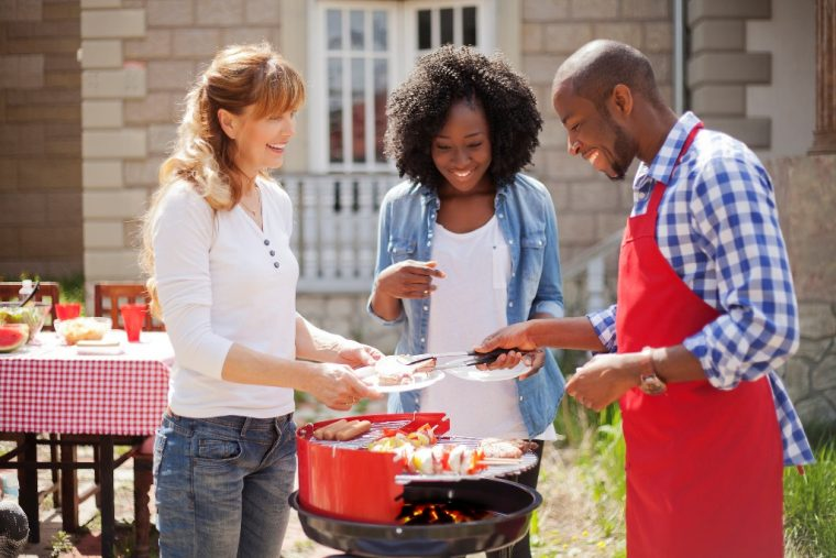 party ideas cookout food gathering decorating tips cooking