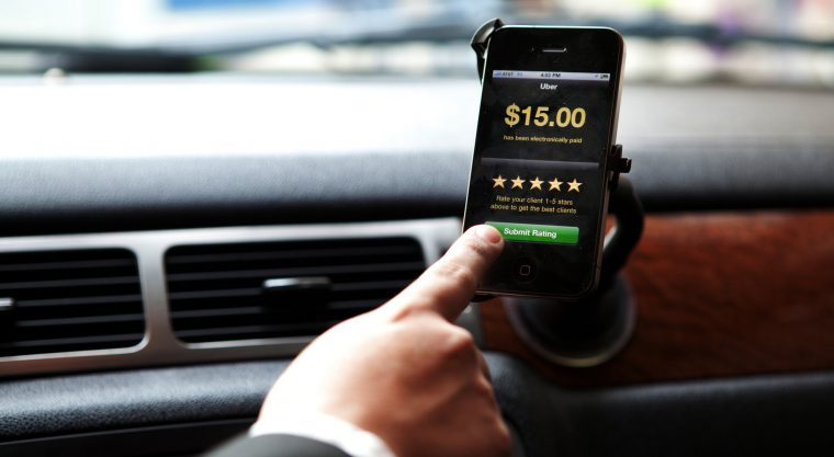 Uber Adds Tipping Feature
