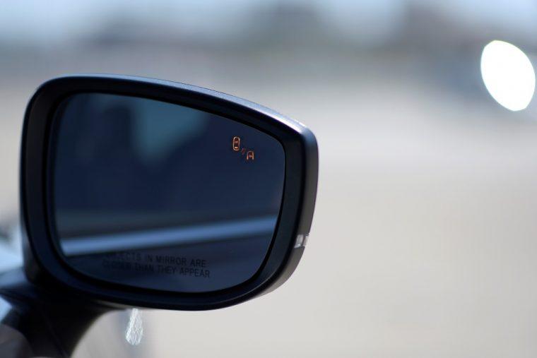 2017 Mazda CX-9 rearview mirror
