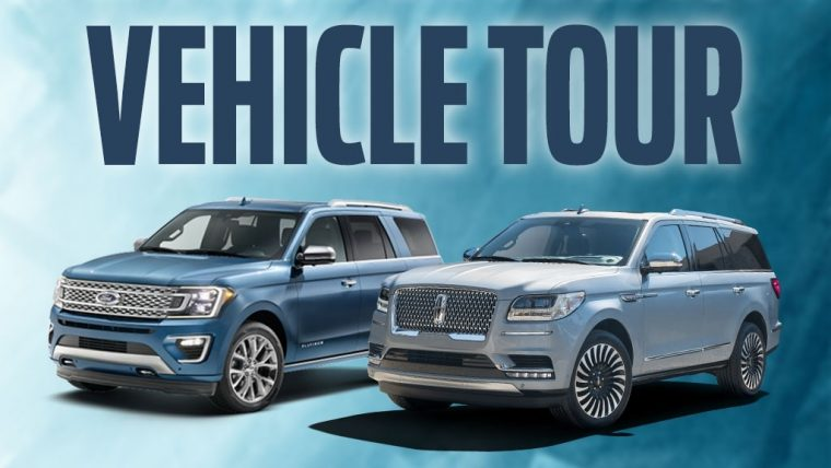 2018 Ford Expedition 2018 Lincoln Navigator Vehicle Tour Dearborn