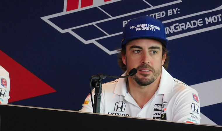 Alonso at IndyCar Conference
