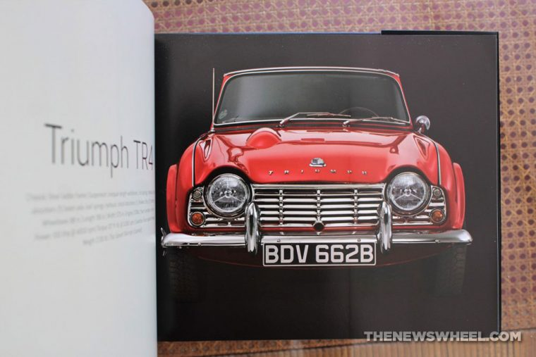 Art of the Classic Sports Car book review Motorbooks Codling Photo Pages contents