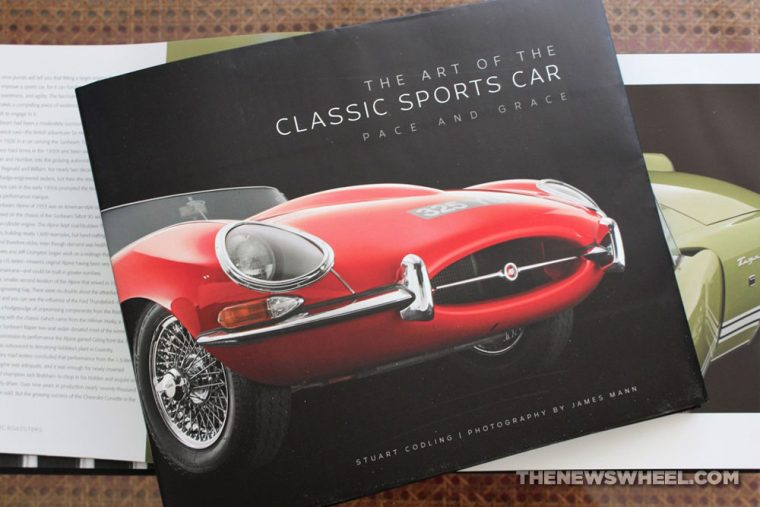 Art of the Classic Sports Car book review Motorbooks Codling Photo Pages cover