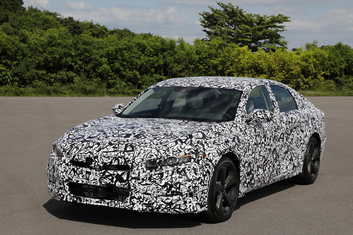 Tenth gen 2018 honda accord to launch this year with new for Honda accord generations