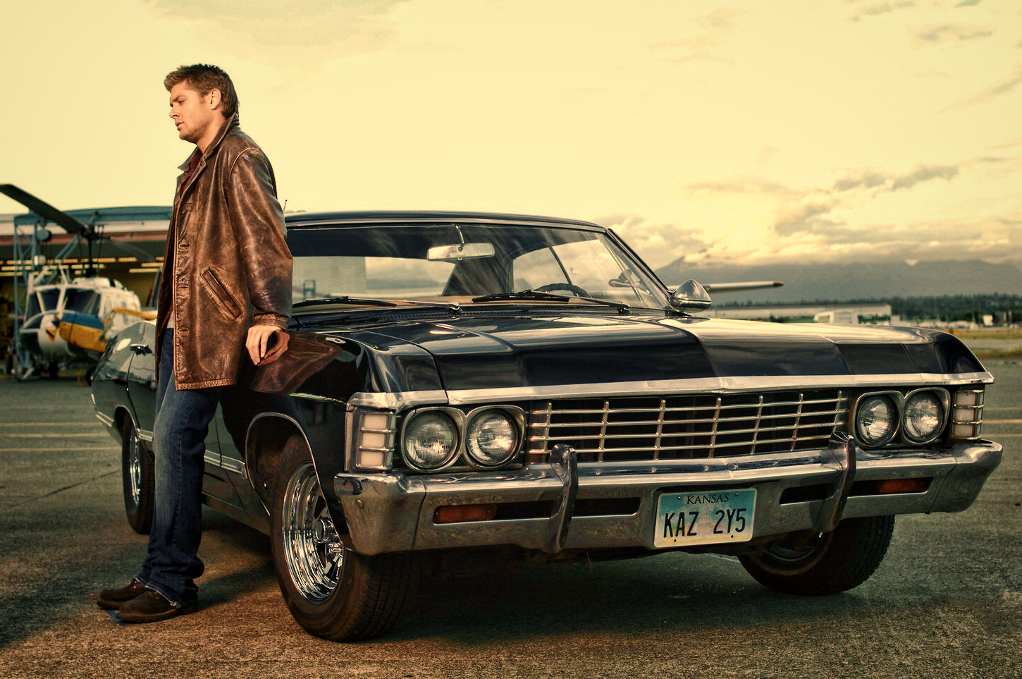 5 things you might not know about dean winchester 39 s 1967 - Supernatural car pics ...