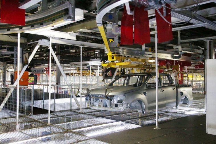 Ford Silverton Assembly Plant Conveyor Belt