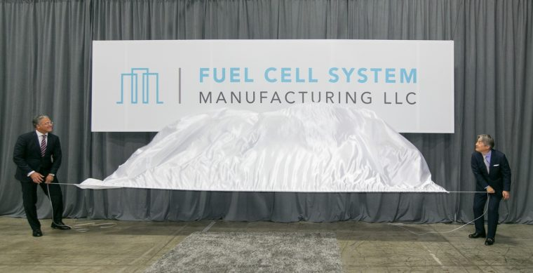Fuel Cell System Manufacturing LLC Reveals Company Logo