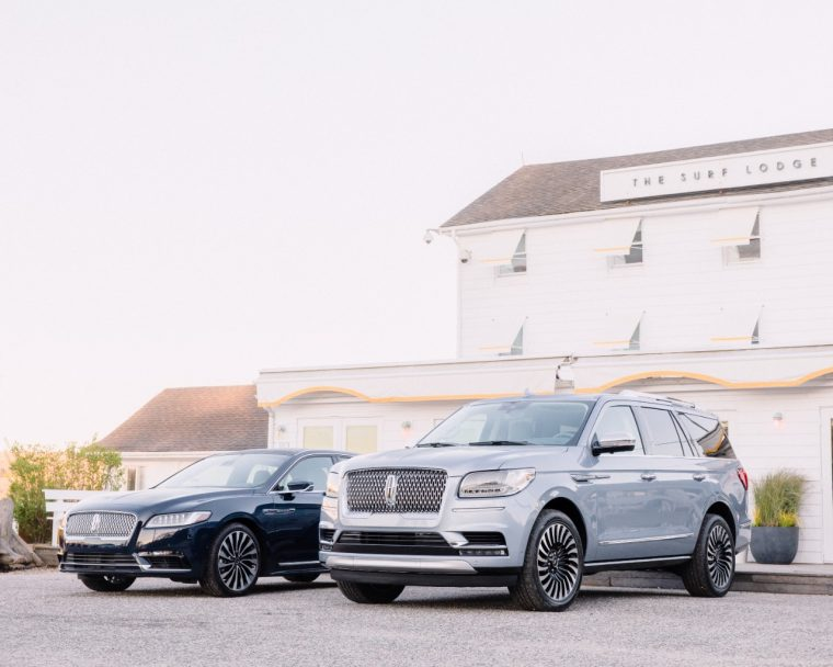 2017 Lincoln Continental 2018 Lincoln Navigator The Surf Lodge the Hamptons