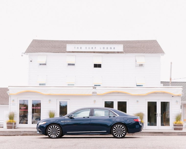 2017 Lincoln Continental The Surf Lodge the Hamptons