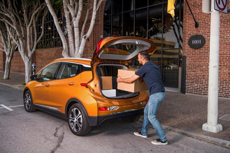 Maven Gig is now available in San Francisco, providing freelance workers with Chevy Bolt EVs