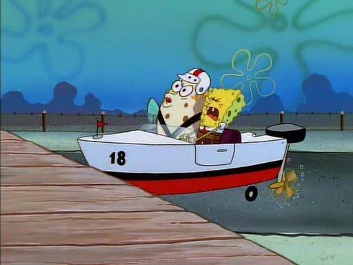 "All Seasons Driving School >> The 5 Best ""SpongeBob SquarePants"" Boating School Episodes - The News Wheel"