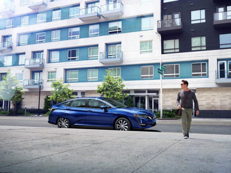 2017 Honda Clarity Electric sedan