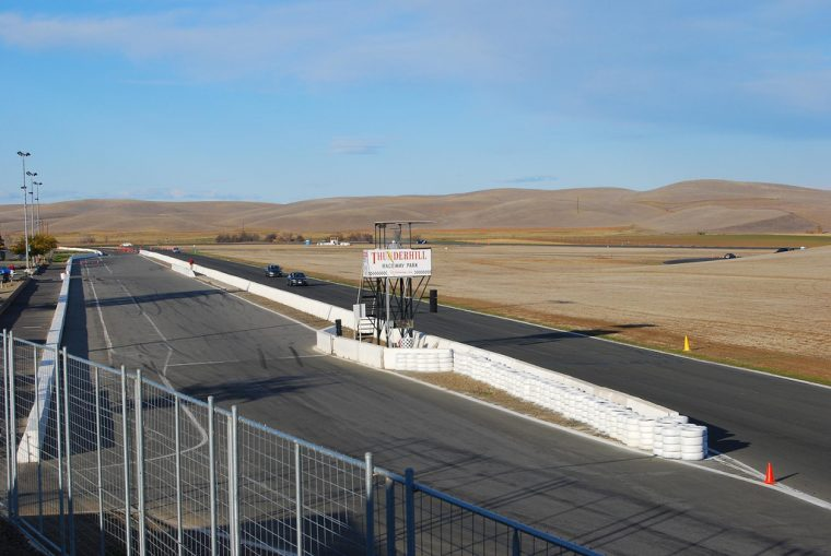 Thunderhill Raceway Park biggest road track in America size stats