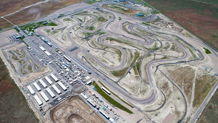 Utah Motorsports Park Miller track road course history biggest