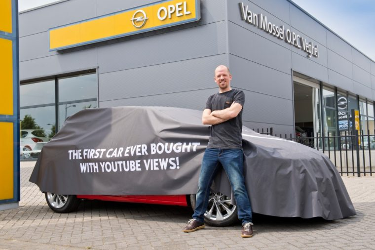 Yuri Schuurkes and Opel Astra Online Edition