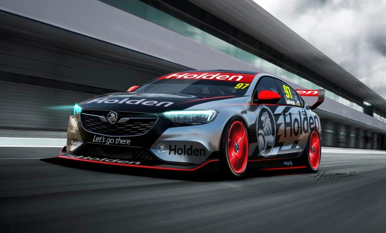 next-gen Holden Commdore race car Supercars