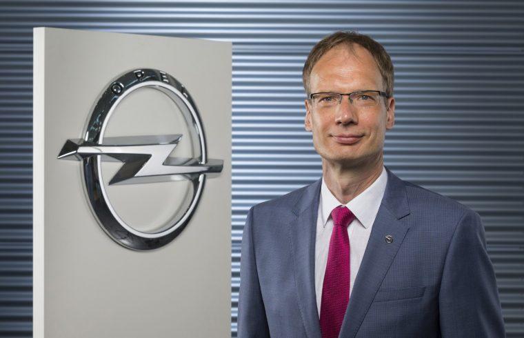 Opel CEO Michael Lohscheller