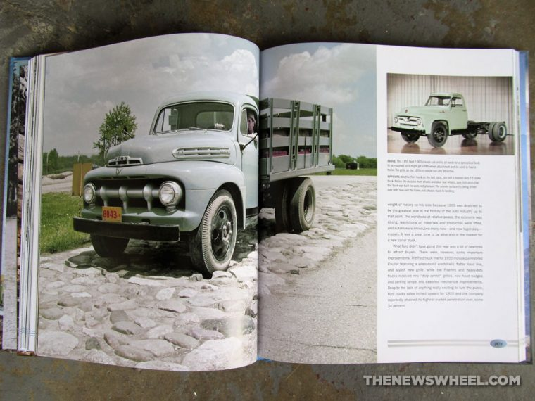 Ford Tough 100 Years of Ford Trucks book review Patrick Foster automotive vehicle car history Motorbooks classic