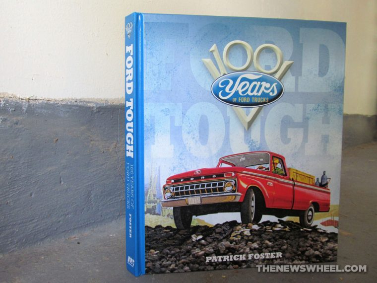 Ford Tough 100 Years of Ford Trucks book review Patrick Foster automotive vehicle car history Motorbooks cover
