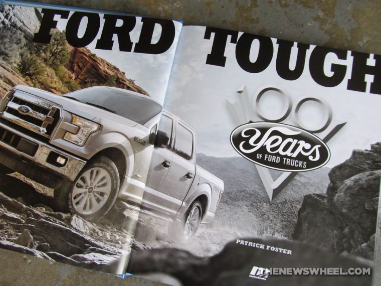 Ford Tough 100 Years of Ford Trucks book review Patrick Foster automotive vehicle car history Motorbooks pictures