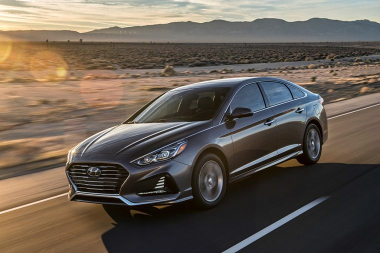 2018 Hyundai Sonata Sedan model overview car specs information side profile