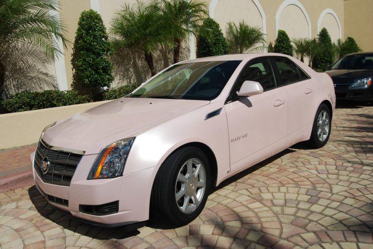 Pink Mary Kay Cadillac