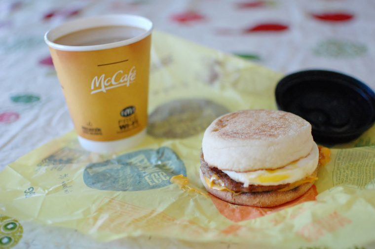 McDonald's Breakfast Sandwich