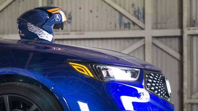 Acura Presents First-Ever Live Augmented Reality Race