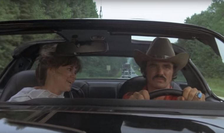 Best Car Movies Ever Top Automotive Films List scene Smokeyand the Bandit Trans Am