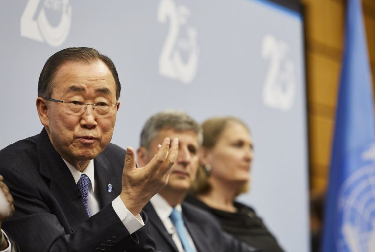 Celebrities who drive hyundai cars Ban Ki-Moon