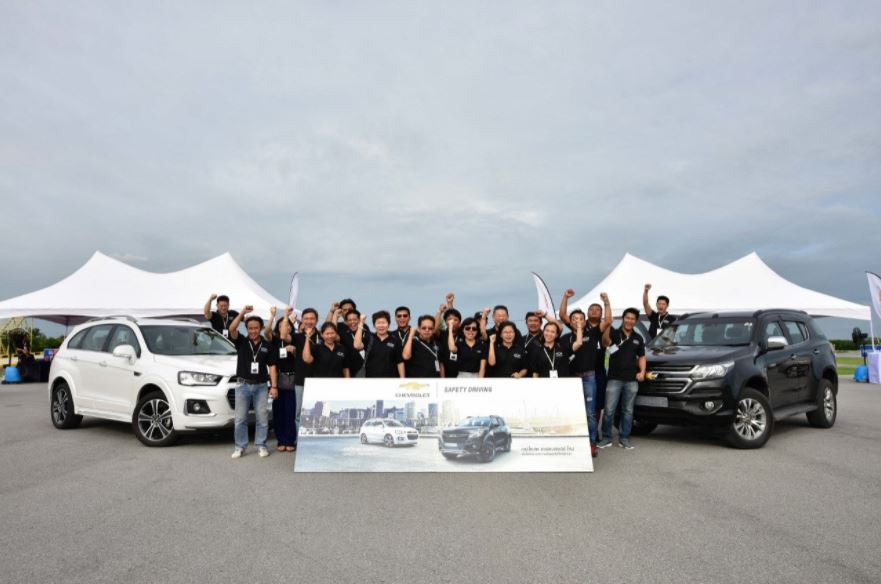 Chevrolet Sales Thailand Safety Driving