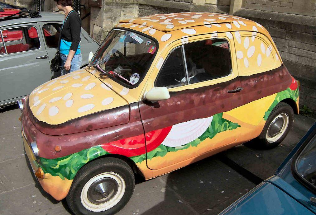 Fiat Burger 500 Car