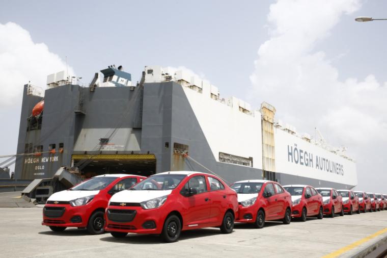 GM India starts shipping Chevy Beat sedan to Latin America