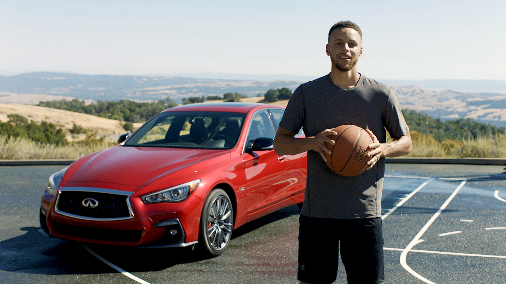2018 INFINITI Q50 and Stephen Curry announce global partnership