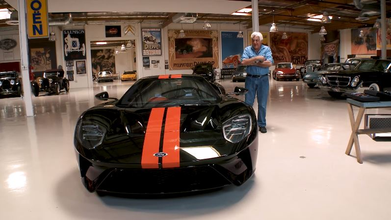 video is anyone really surprised that jay leno got a 2017 ford gt the news wheel. Black Bedroom Furniture Sets. Home Design Ideas