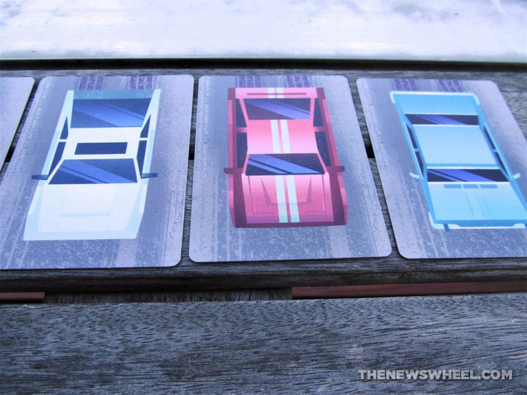 Rob Cramer Turbo Drift Card Game Pocket Car Racing players