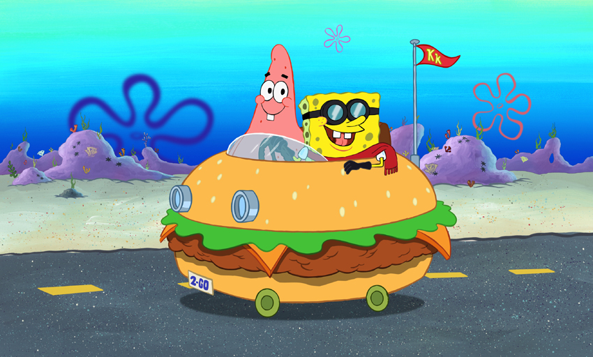 Spongebob Square Pants Patty Wagon