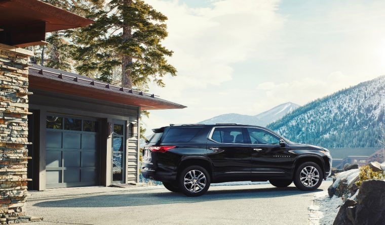 The 2018 Chevy Traverse High Country trim