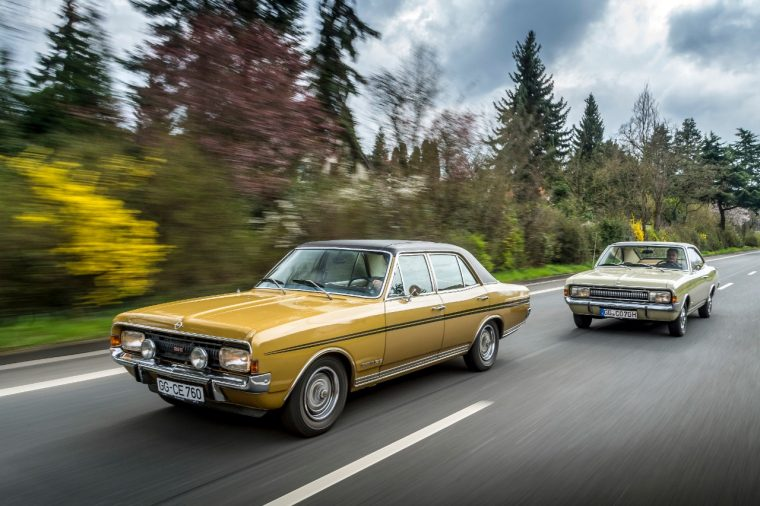 The Commodore A sedan (foreground) and Commodore A coupe will be participating in this year's Silvretta Classic